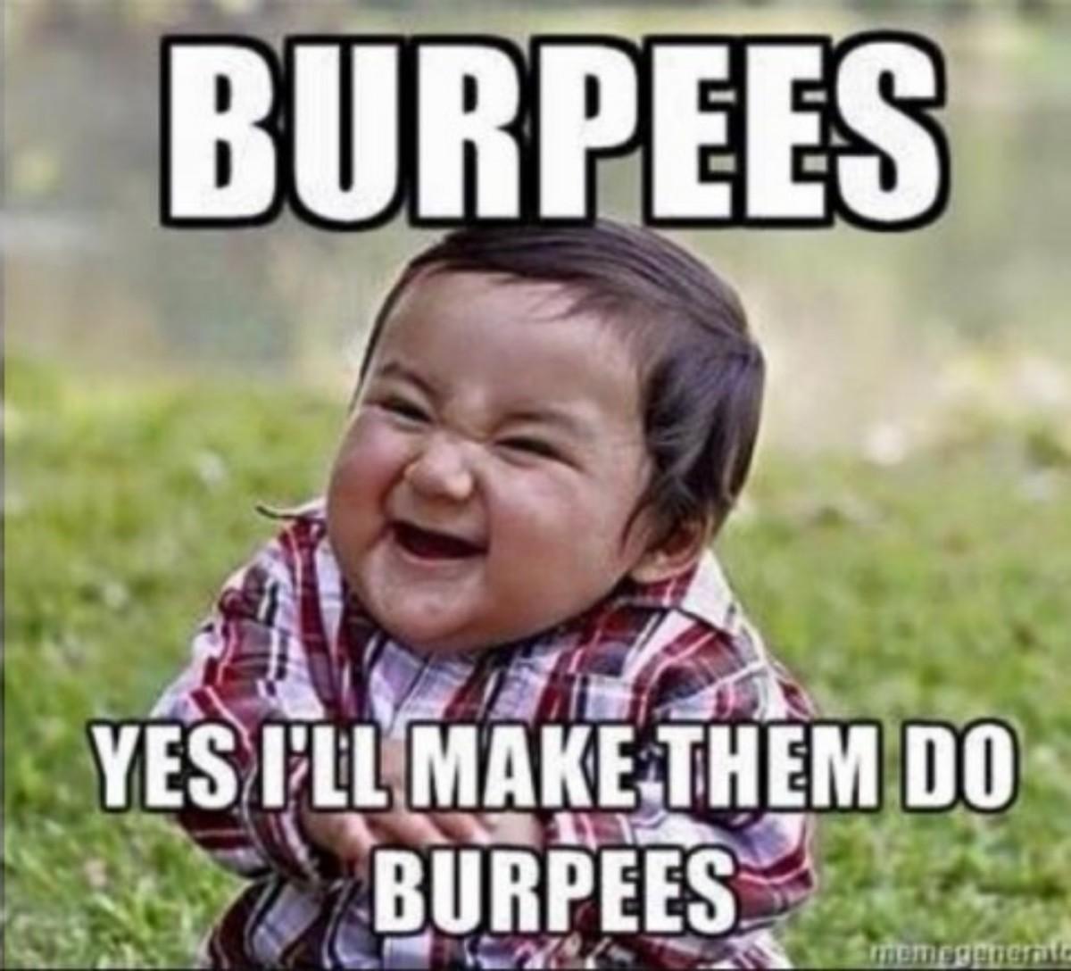 crossfit burpees